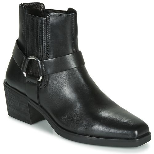 Shoes Women Ankle boots Vagabond SIMONE Black