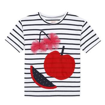 Clothing Girl Short-sleeved t-shirts Catimini KUSY White
