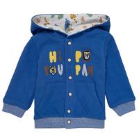 Clothing Boy Jackets / Cardigans Catimini KELYNE Blue