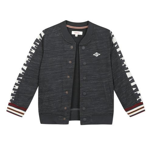 Clothing Boy Jackets / Cardigans Catimini AUDELIA Black