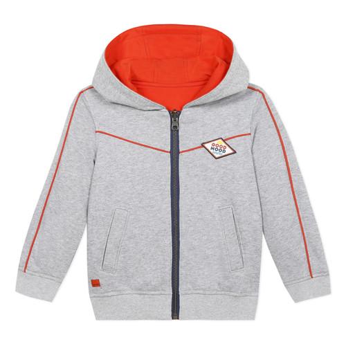 Clothing Boy Jackets / Cardigans Catimini ADELE Grey