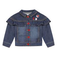 Clothing Girl Jackets Catimini VALENTIN Blue
