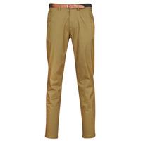 Clothing Men Chinos Selected SLHYARD Camel