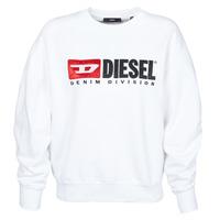 Clothing Women Sweaters Diesel F-ARAP White