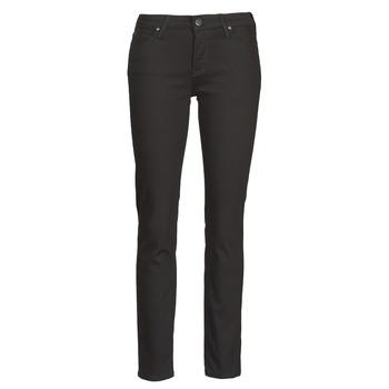 Clothing Women Slim jeans Lee ELLY  black / Rinse