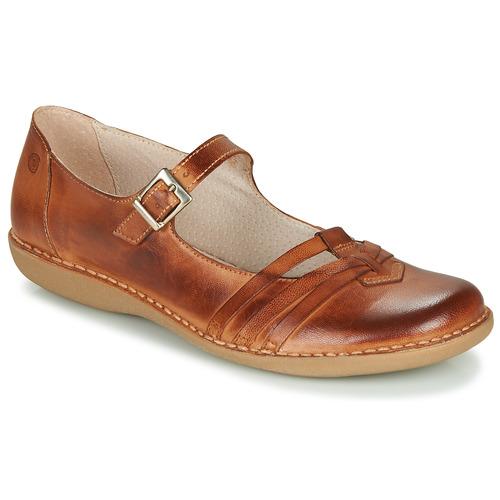 Shoes Women Flat shoes Casual Attitude GERALDINE Brown