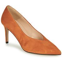 Shoes Women Heels Betty London MINATTE Cognac