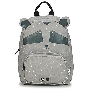 Bags Children Rucksacks TRIXIE MISTER RACCOON Grey