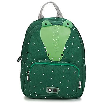 Bags Children Rucksacks TRIXIE MISTER CROCODILE Green
