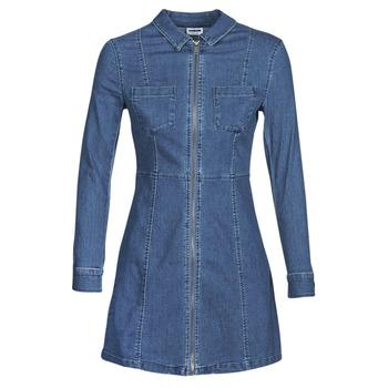 Clothing Women Short Dresses Noisy May NMLISA Blue / Medium