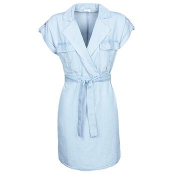 Clothing Women Short Dresses Noisy May NMVERA Blue / Clear