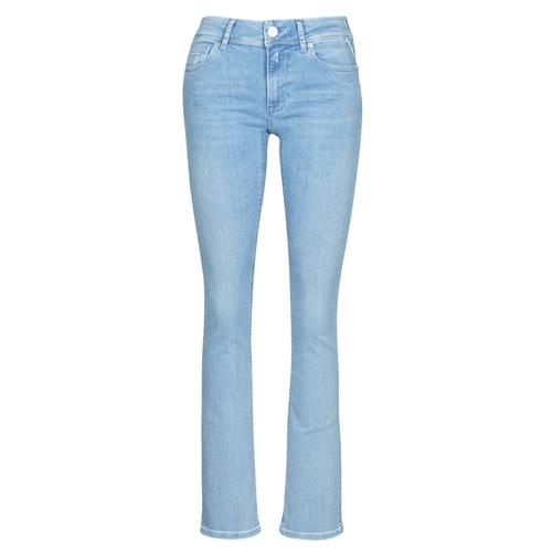 Clothing Women Bootcut jeans Replay LUZ BOOTCUT Blue / Medium