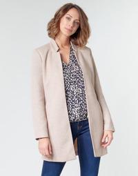 Clothing Women coats Only ONLSOHO Beige