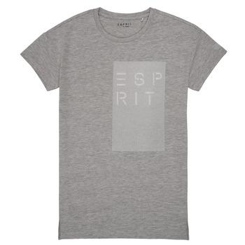 Clothing Girl Short-sleeved t-shirts Esprit EVELYNE Grey