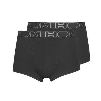 Underwear Men Boxer shorts Hom HOM BOXERLINES BOXER BRIEF HO1 PAXK X2 Black