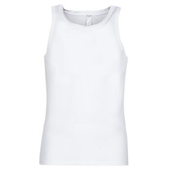 Clothing Men Tops / Sleeveless T-shirts Hom SUPREME COTTON TANKTOP White
