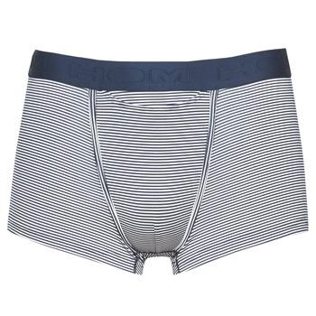 Underwear Men Boxer shorts Hom SIMON BOXER BRIEF HO1 Marine / White