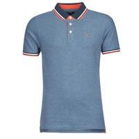 Clothing Men Short-sleeved polo shirts Jack & Jones JJEPAULOS Blue