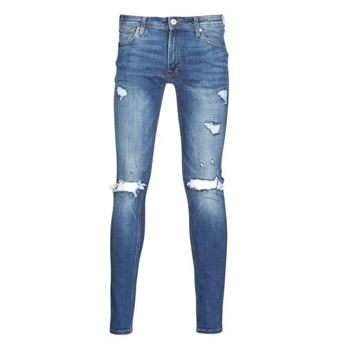 Clothing Men Slim jeans Jack & Jones JJITOM Blue / Medium