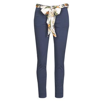 Clothing Women 5-pocket trousers Betty London MIRABINE Marine