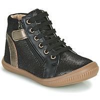 Shoes Girl Hi top trainers GBB RACHIDA Black