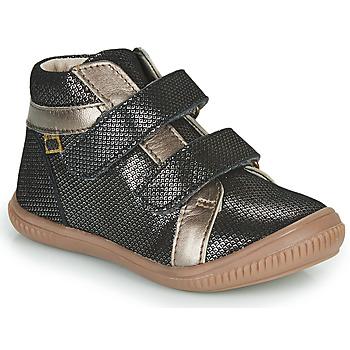 Shoes Girl Hi top trainers GBB EDEA Black