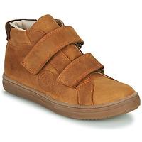 Shoes Boy Hi top trainers GBB NAZAIRE Brown