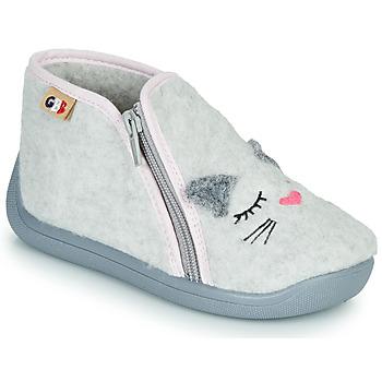 Shoes Girl Slippers GBB CORI Grey