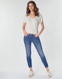 Clothing Women Cargo trousers Only ONLKENDELL Blue / Medium