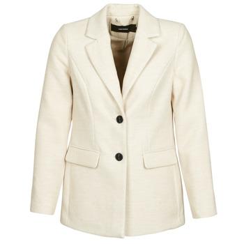 Clothing Women coats Vero Moda VMCALA White