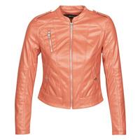 Clothing Women Leather jackets / Imitation leather Vero Moda VMAWARDALMA Brick