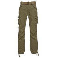 Clothing Men Cargo trousers Schott BATTLE Kaki