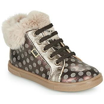 Shoes Girl Hi top trainers GBB JUNA Brown