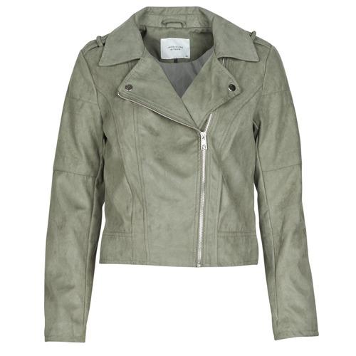 Clothing Women Leather jackets / Imitation leather JDY JDYPEACH Grey
