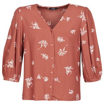 Clothing Women Shirts Vero Moda VMJILLEY Bordeaux