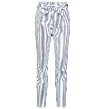 Clothing Women Chinos Vero Moda VMEVA White / Grey