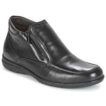 Shoes Men Mid boots Fluchos LUCA Black