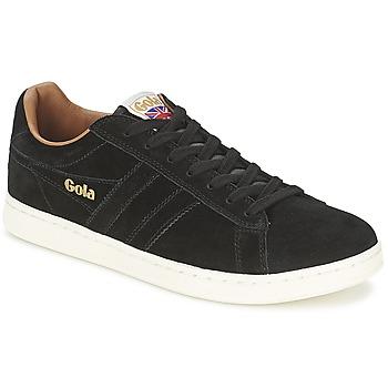Shoes Men Low top trainers Gola EQUIPE SUEDE Black