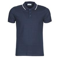 Clothing Men short-sleeved polo shirts Casual Attitude M.BOUPI Marine