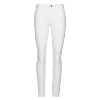 Clothing Women Slim jeans Vero Moda VMSEVEN White