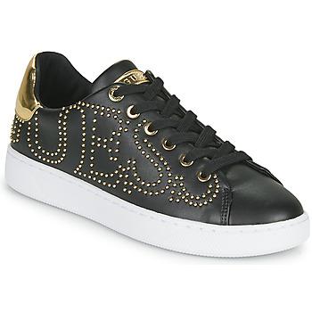 Shoes Women Low top trainers Guess RAZZ Black