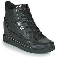 Shoes Women Hi top trainers Guess FABIA Black