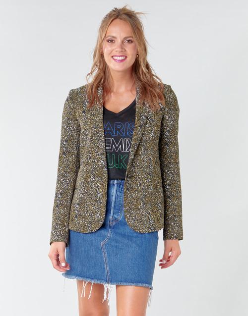 Clothing Women Jackets / Blazers Ikks BR40005 Kaki