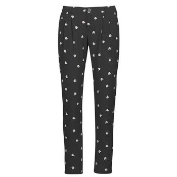 Clothing Women Wide leg / Harem trousers Ikks BR22125 Black