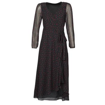 Clothing Women Long Dresses Ikks BR30225 Black