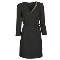 Clothing Women Short Dresses Ikks BR30265 Black