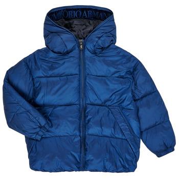 Clothing Boy Duffel coats Emporio Armani 6H4BF9-1NLYZ-0975 Marine