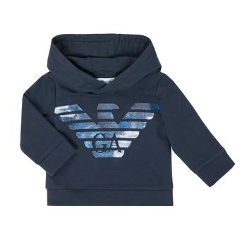 Clothing Boy Sweaters Emporio Armani 6HHMA9-4JCNZ-0922 Marine