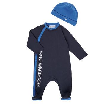Clothing Boy Sleepsuits Emporio Armani 6HHV12-4J3CZ-0922 Marine