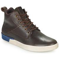 Shoes Men Hi top trainers TBS SANDJAY Brown